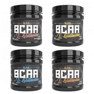4 už 3 kainą The Iron X BCAA + L-Glutamine