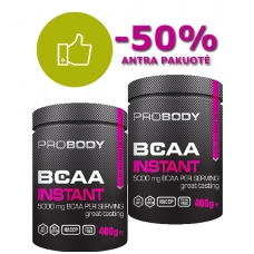 BCAA Instant -50% antrai pakuotei