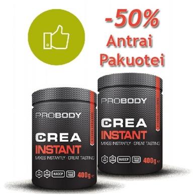 CREA INSTANT -50% antrai pakuotei