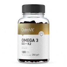 OstroVit Omega 3 D3+K2 180 caps
