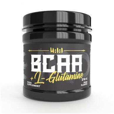 The Iron X BCAA + L-Glutamine 3